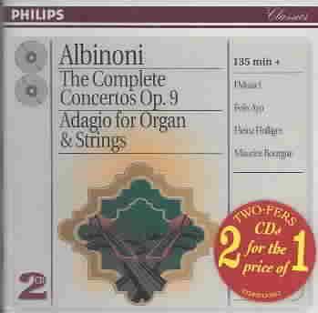 ALBINONI:CONCERTOS OP. 9 BY I MUSICI (CD)