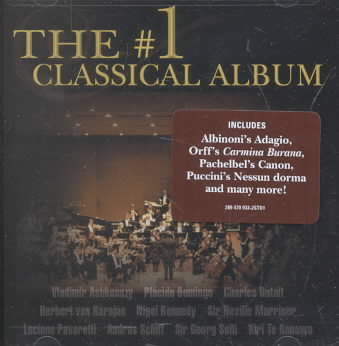 #1 CLASSICAL ALBUM (CD)